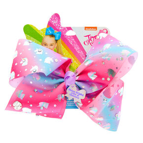 JoJo Siwa™ Large Shine Bright Like A Unicorn Signature Hair Bow,