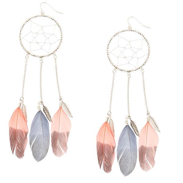 Claire's - dreamcatcher drop earrings - 1