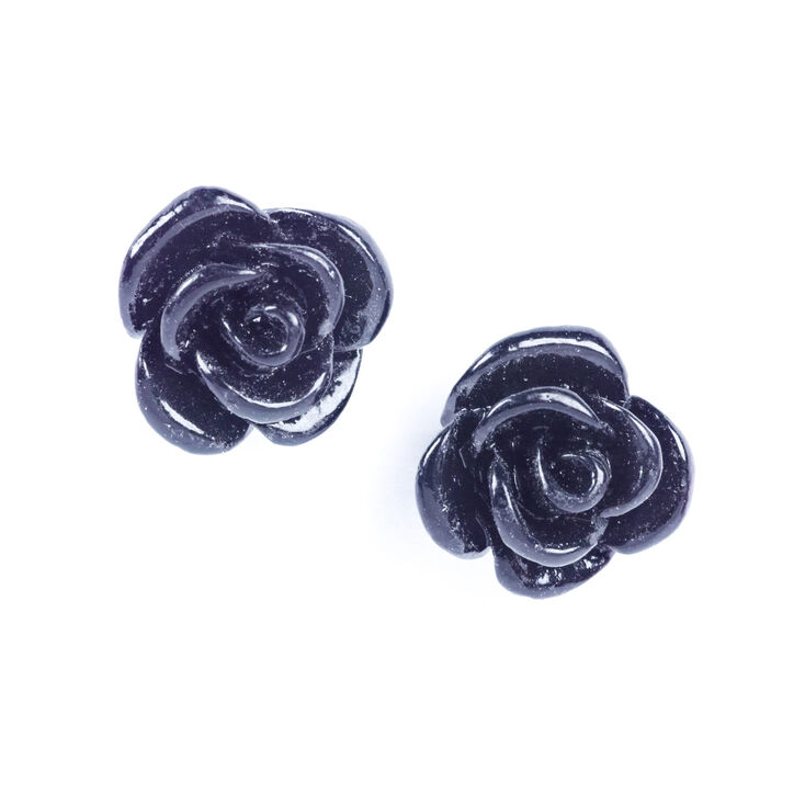 original stud earrings cz compatible fashion sterling bamoer jewelry in flower shimmering with from petals clear item rose silver