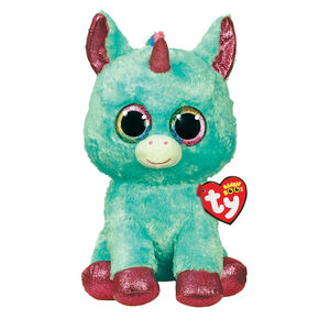 Ty Beanie Boo Large Areilla the Unicorn Cat SoftToy,