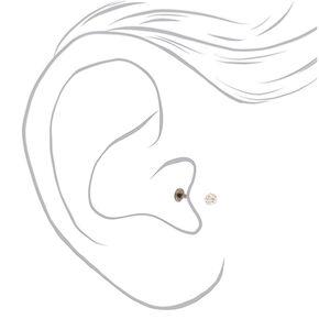 Titanium 16G Fireball Tragus Earring,