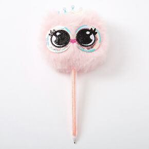 Penelope the Owl Plush Pen - Pink,