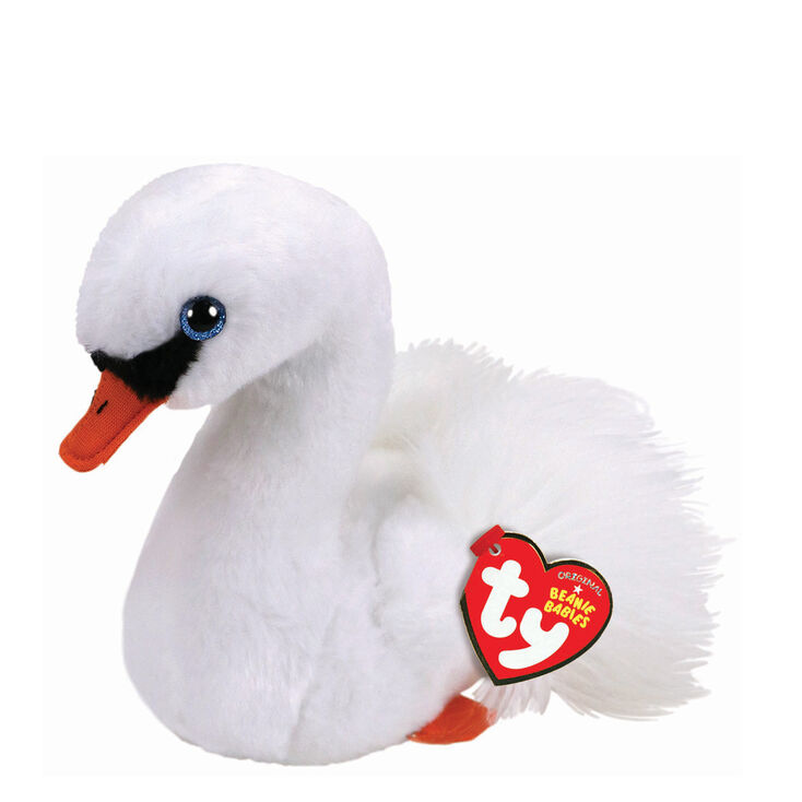 13d2f4e55f8 Claire s Ty Beanie Boo Small Gracie The Swan Soft Toy