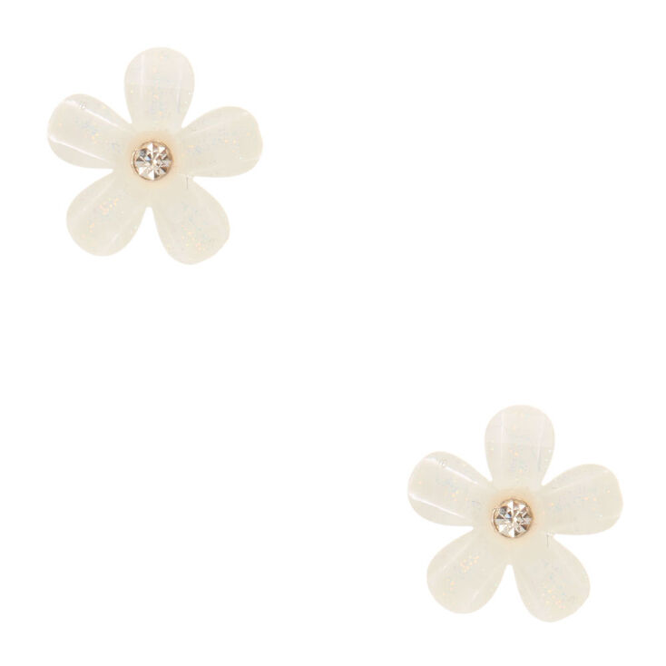 flower retro earring pearl products stud navya