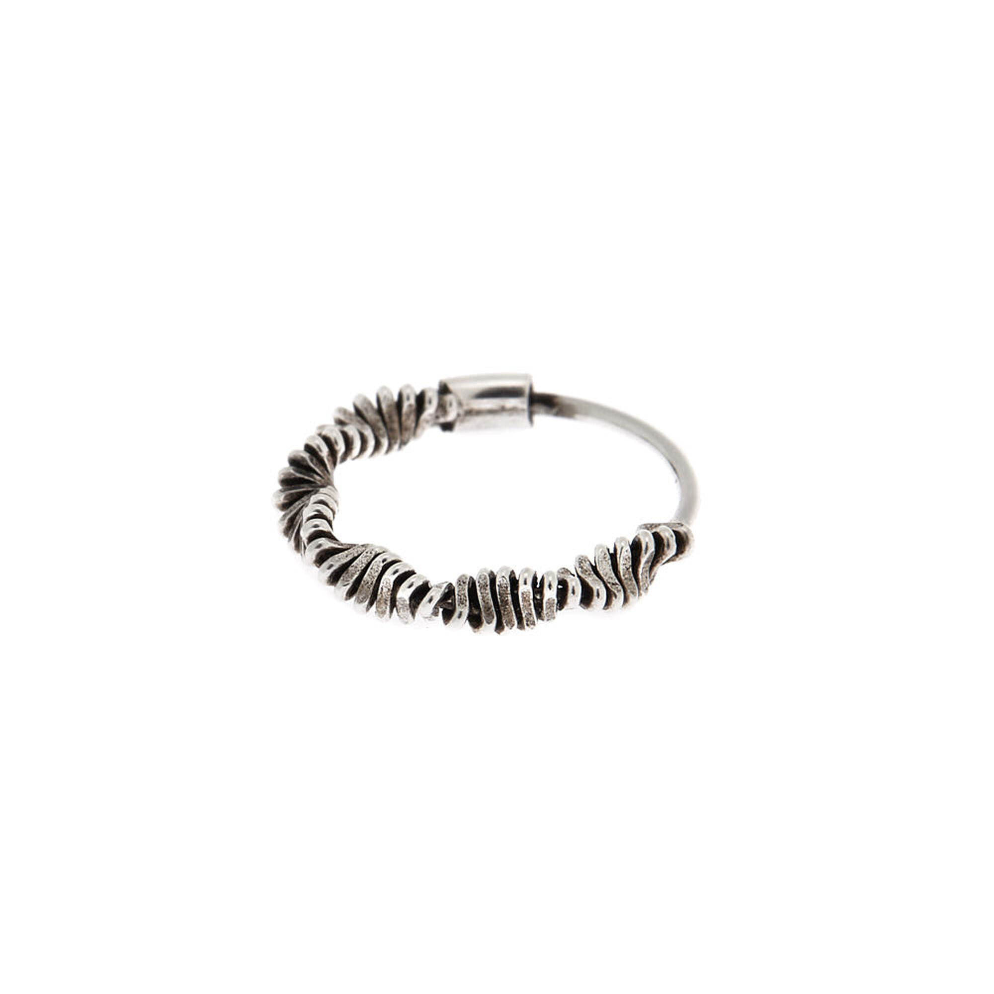 Sterling Silver Slinky Cartilage Hoop Earring   Claire's