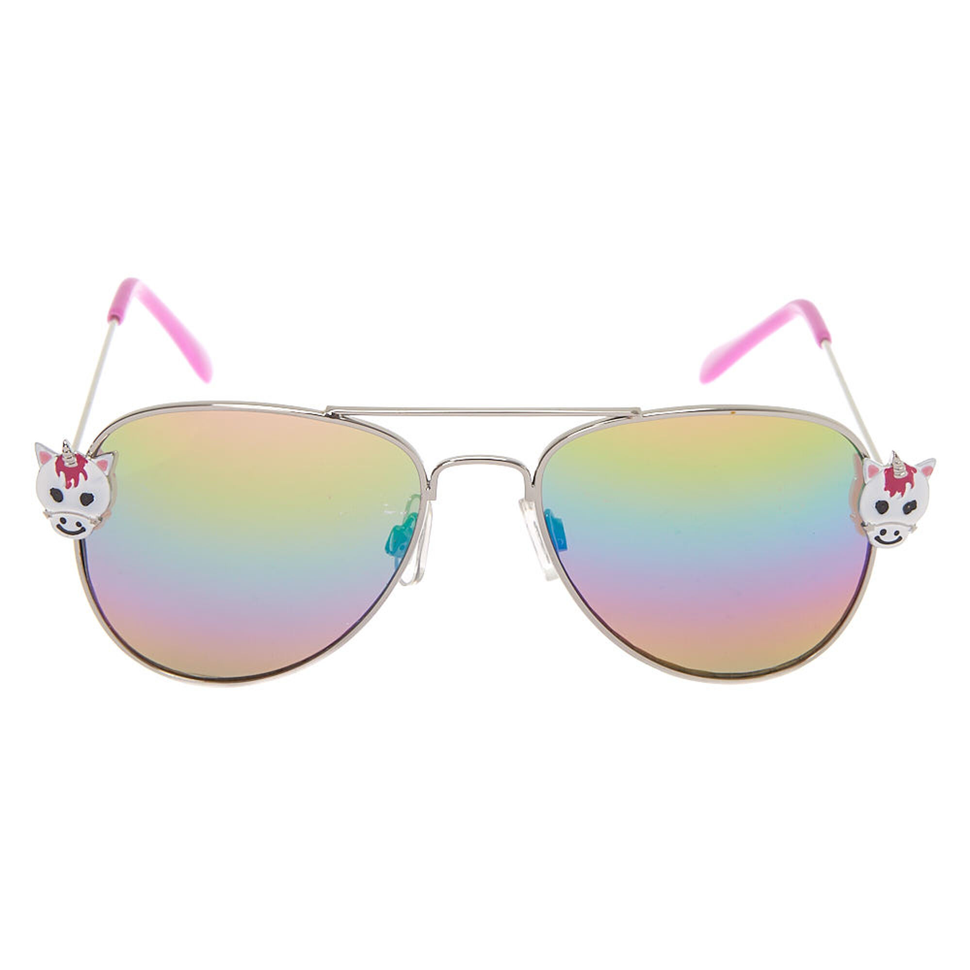 fc5b7595ab ... Claire  39 s Club Unicorn Aviator Sunglasses