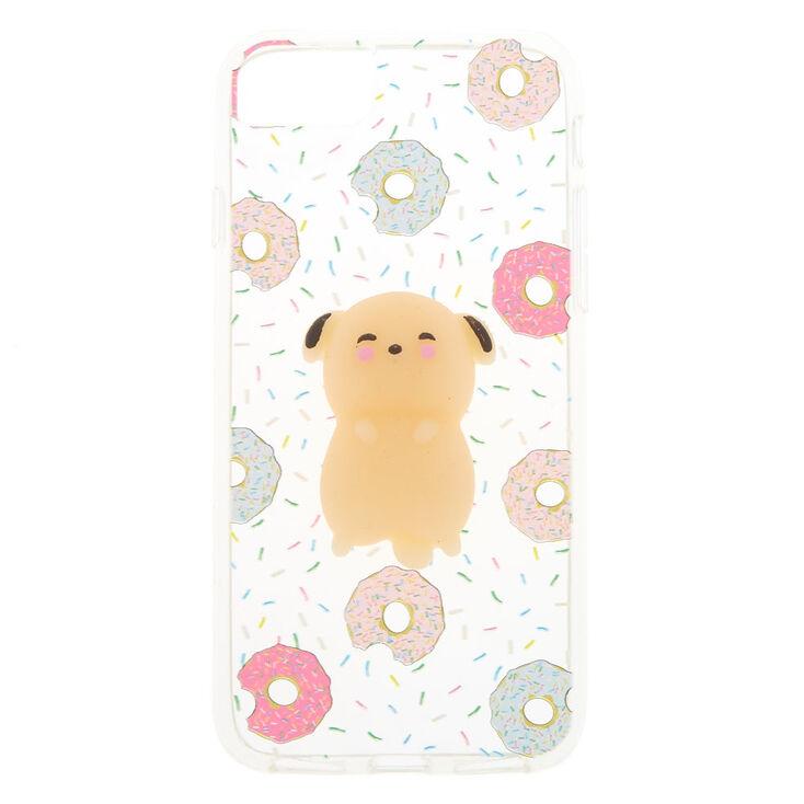 Dog Donut Squishy Phone Case,