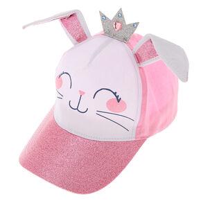 da32c9ec847 Claire s Club Claire the Bunny Baseball Cap - Pink
