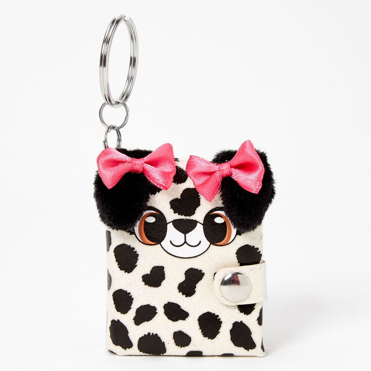 Dalmatian Mini Diary Keychain,