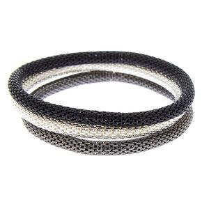 Mesh Stretch Bracelets - 3 Pack,