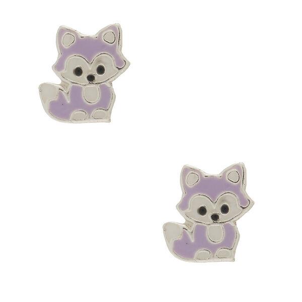Claire's - sterling fox stud earrings - 1