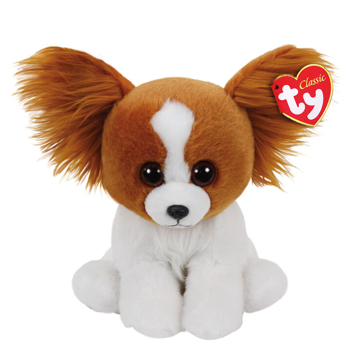 Ty Beanie Classic Small Barks The Dog Plush Toy Claire S Us