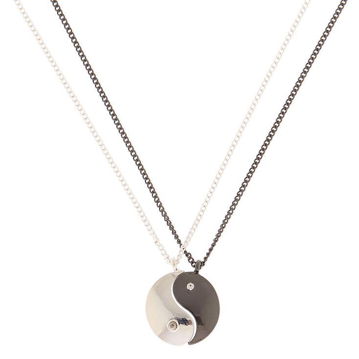 Best Friends Yin Yang Pendant Necklaces - 2 Pack,