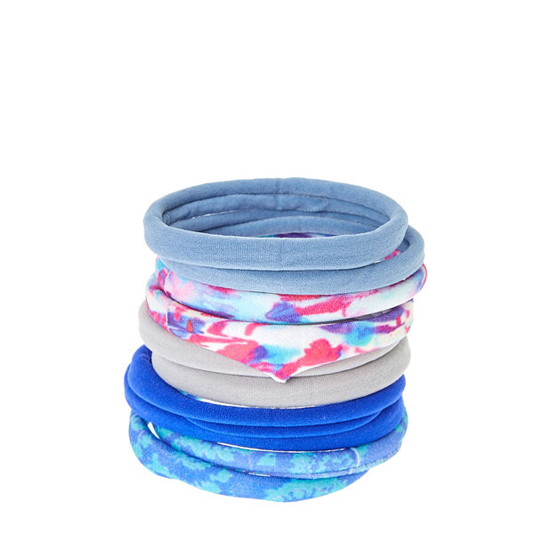 Claire's - tie dye rolled hair bobbles - 1