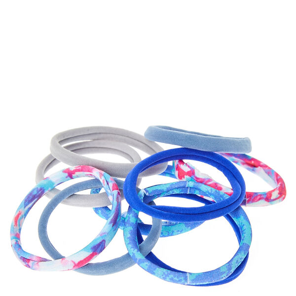 Claire's - tie dye rolled hair bobbles - 2