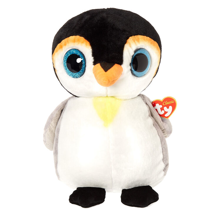 Ty Beanie Boo Large Pongo The Penguin Plush Toy Claire S Us