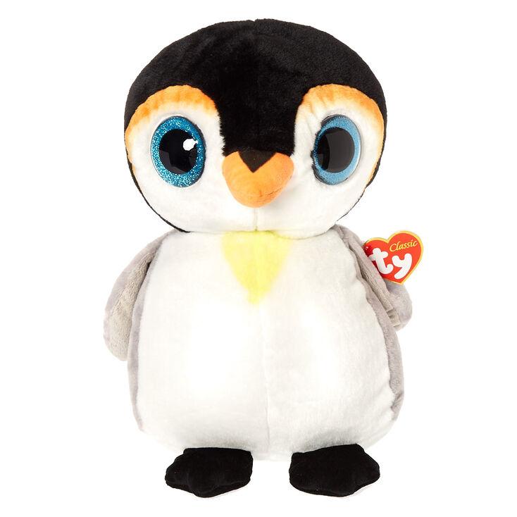 35e43bb989d Ty Beanie Boo Large Pongo the Penguin Plush Toy