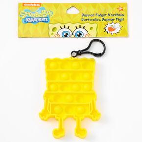 Pop Poppers SpongeBob SquarePants™ Fidget Toy Keychain - Yellow,
