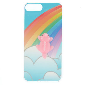 Rainbow Squishy Unicorn Phone Case - Blue 9eb0ffcf09
