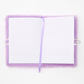 Giant Initial Furry Lock Diary - Q,