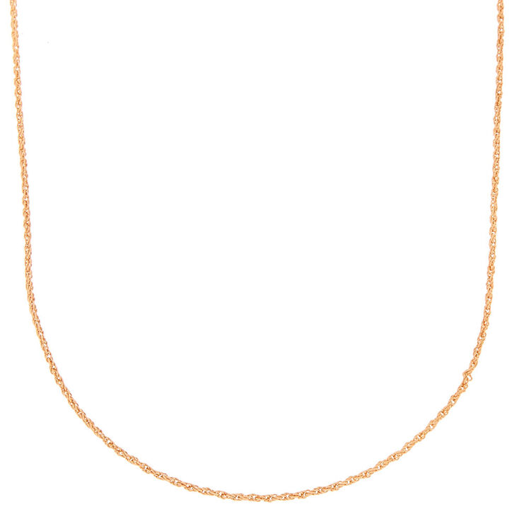 Gold Twisted Rope Statement Necklace,