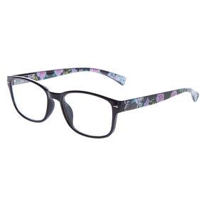 1b90c7a9fd85 Rectangle Floral Frames - Black