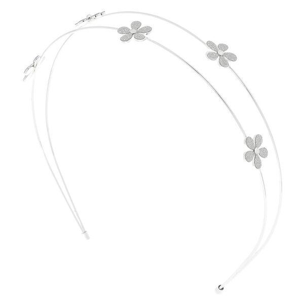 Claire's - glitter two row headband - 1