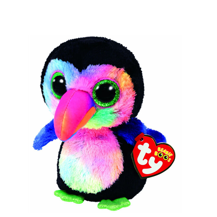 Ty Beanie Boo Small Beaks the Toucan Plush Toy,