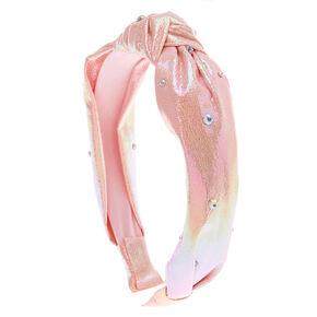 JoJo Siwa™ Iridescent Knotted Headband – Pink,