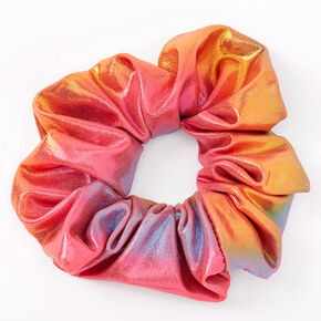 Medium Anodized Sunset Hair Scrunchie,
