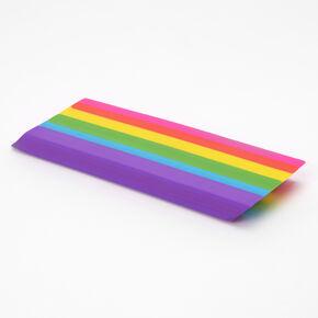 Jumbo Rainbow Stripe Eraser,