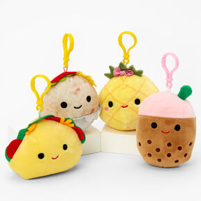 """Squishmallows™ 3.5"""" Snack Plush Toy Keychain - Styles May Vary,"""