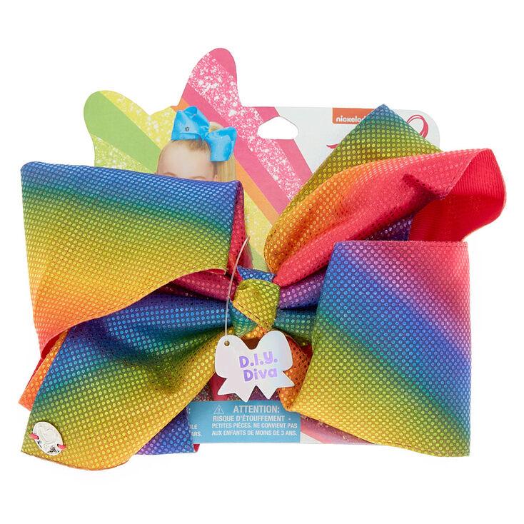 Jojo Siwa Rainbow D I Y Diva Large Hair Bow