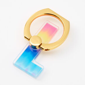 Ombre Initial Ring Stand - L,