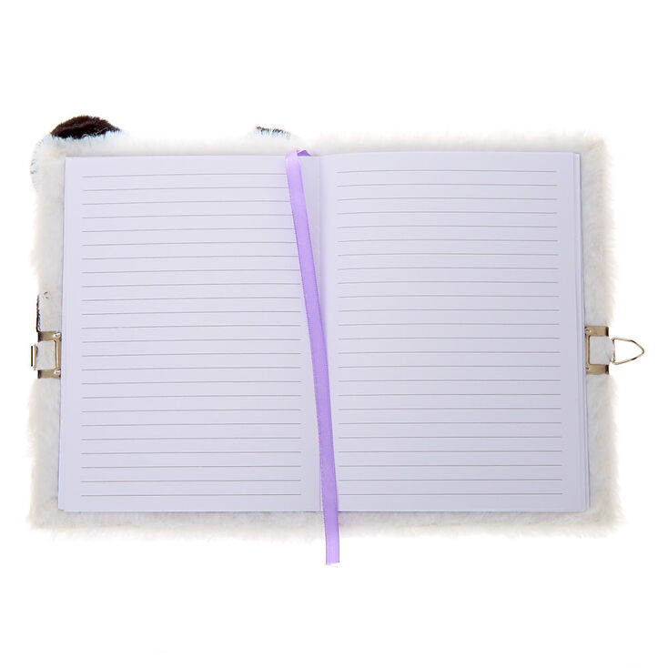 Zoey the Panda Dress Up Soft Lock Diary,
