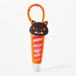 Halloween Black Cat Silicone Lip Gloss Tube - Strawberry Cream,