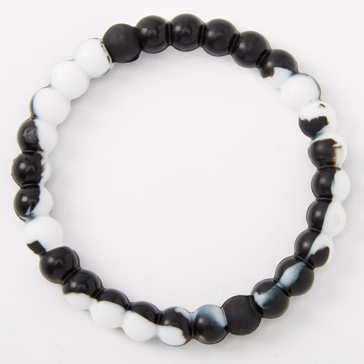 Courage Fortune Stretch Bracelet - Black,