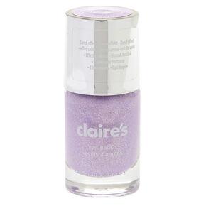 Glitter Sand Nail Polish - Purple Pastel,