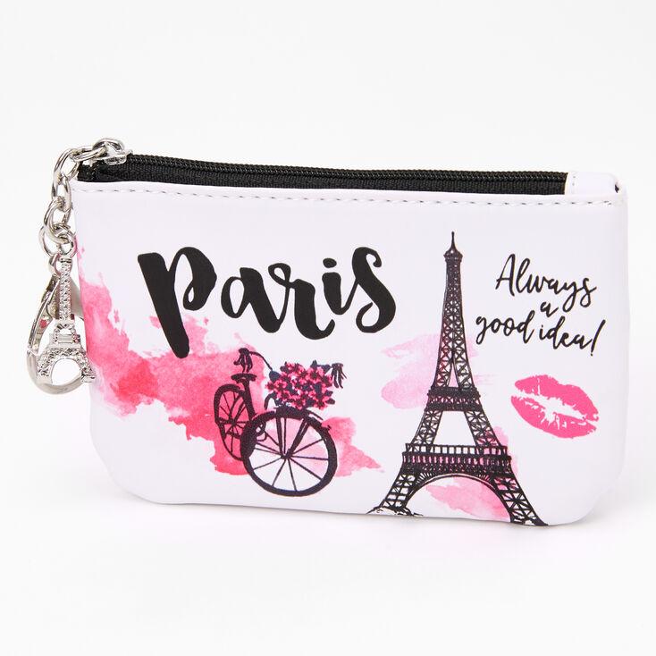 Porte-monnaie Paris - Rose,