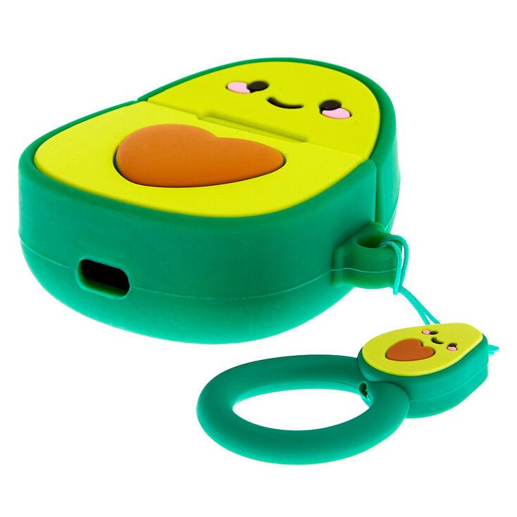 Étui pour écouteurs en silicone avocat - Compatible avec les Airpods® de Apple,