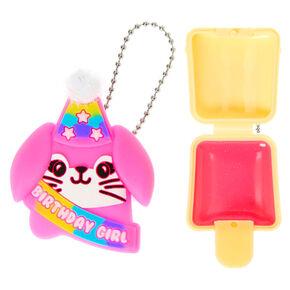 Pucker Pops Birthday Girl Bunny Lip Gloss - Birthday Cake,