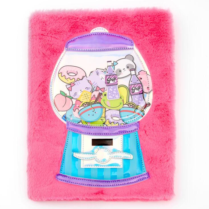 Gumball Machine Plush Sketchbook - Pink,