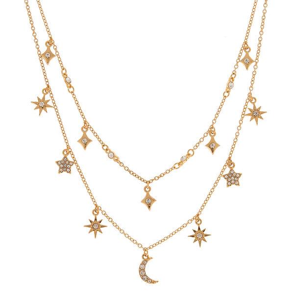 Claire's - celestial multi strand necklace - 2