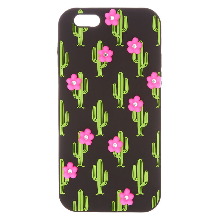 Cactus with pink flowers phone case claires ca cactus with pink flowers phone case mightylinksfo