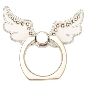 White Angel Wings Ring Stand,