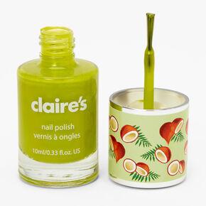 Vernis à ongles parfumé - Vert,