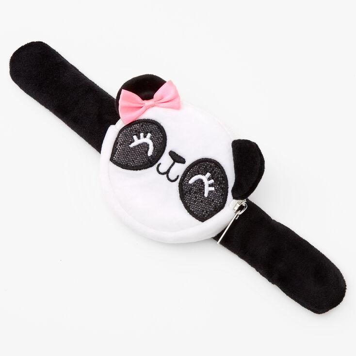 Panda Slap Wristlet - Black,