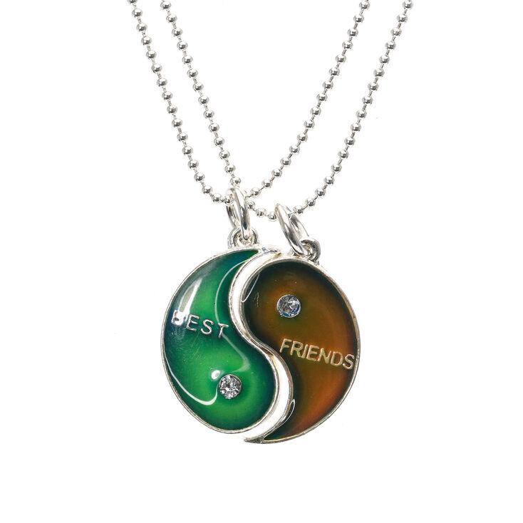 Best Friends Mood Yin Yang Pendant Necklaces,