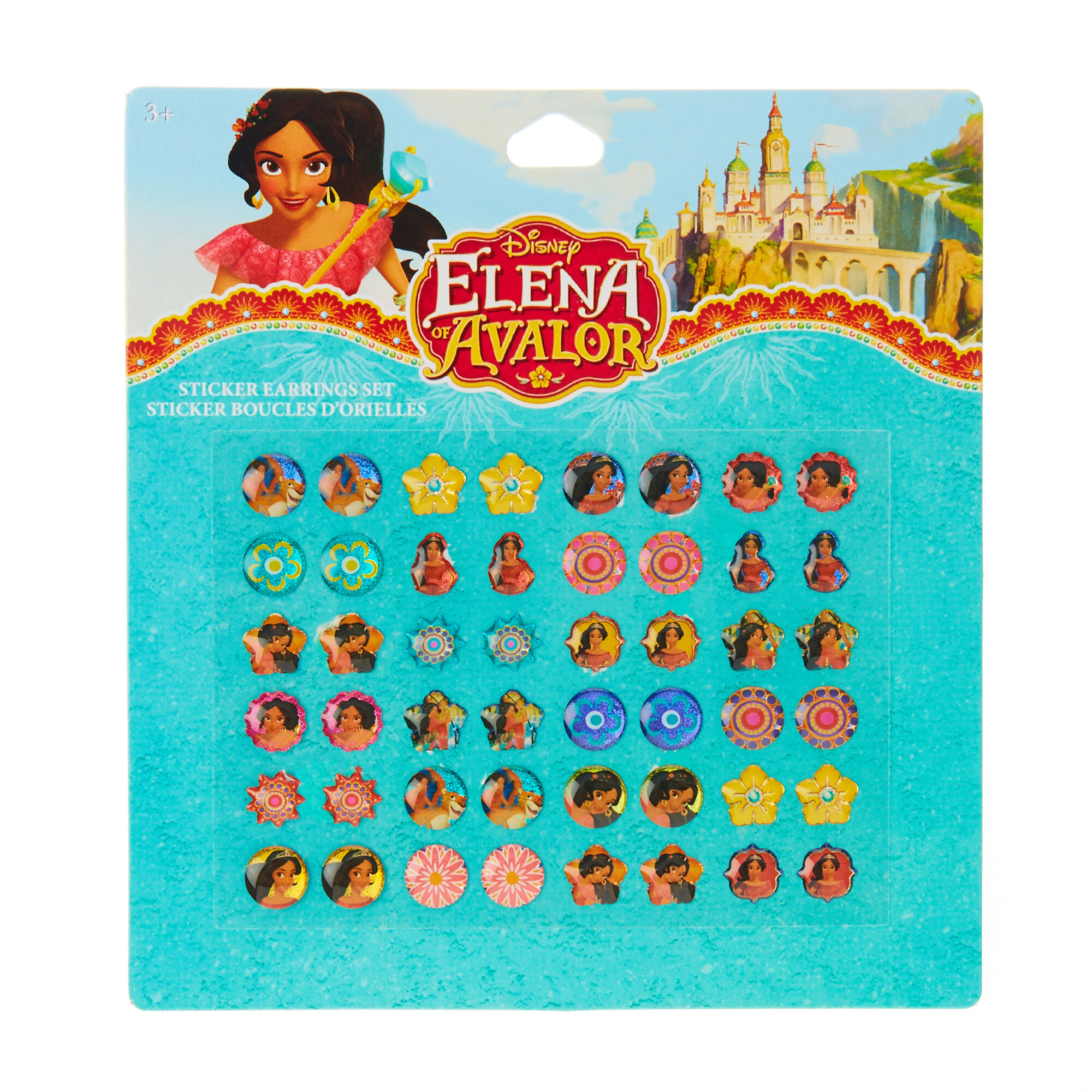 Disney Princess Elena of Avalor Sticker Earrings