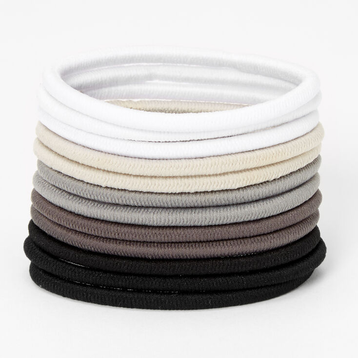 Neutral Luxe Hair Bobbles - 12 Pack,